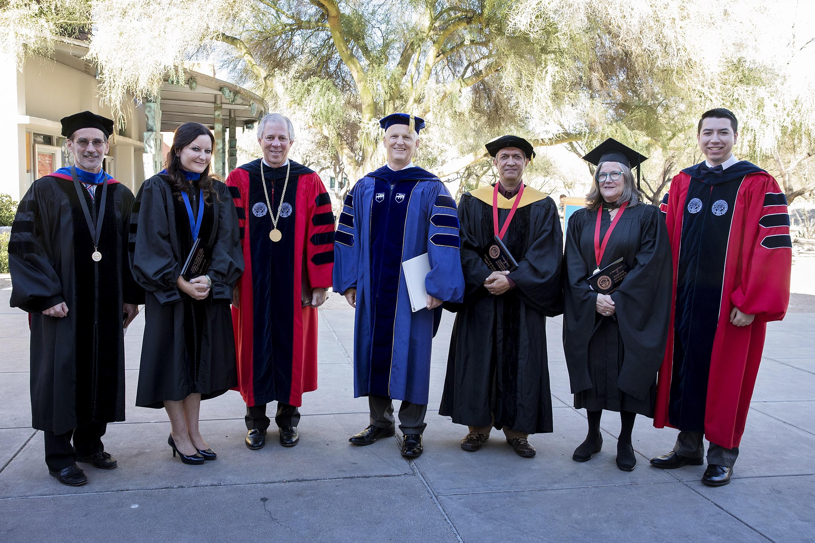 2017 Regents Professors group photo